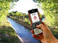 Sms de alerta detectado por el sistema